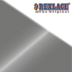 Rexlace Britelace - 50 yards, Silver Metallic