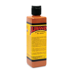 Alpha6 Alphanamel Lettering Enamel - Burnt Orange, 236.6 ml, Bottle