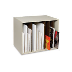 Safco Art Rack - 36'' x 29'' x 24 1/4'', Single