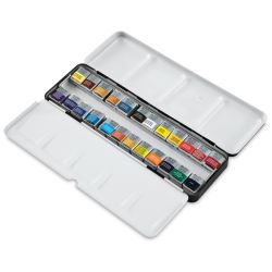 Lightweight Sketcher Box Half Pan Set of 24