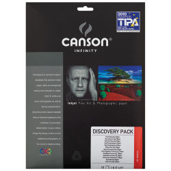 Canson Infinity Discovery Pack - 8-1/2'' x 11'', 12 Sheets