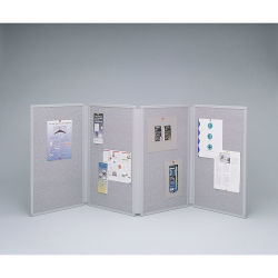 Acco Quartet Tabletop Display - 4 Panel