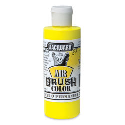 Jacquard Airbrush Paint - 4 oz, Fluorescent Yellow