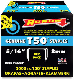 T-50 Staples, Box of 5000