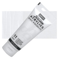 Pebeo High Viscosity Acrylics - Titanium White, 100 ml tube