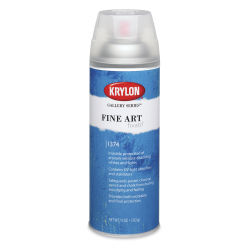 Krylon Gallery Series Fine Art Fixitif - 11 oz
