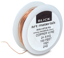 Copper Wire, 24 Gauge