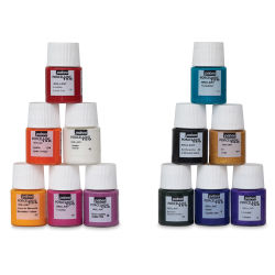 Pebeo Porcelaine 150 Paints - Discovery Set of 12, 20 ml bottle