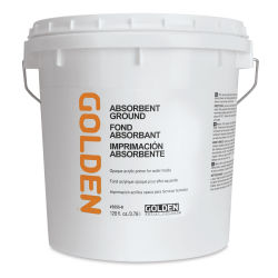 Golden Absorbent Ground - White, 128 oz jar