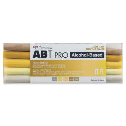 Tombow ABT PRO Alcohol Markers - Light Hair Tones, Set of 5