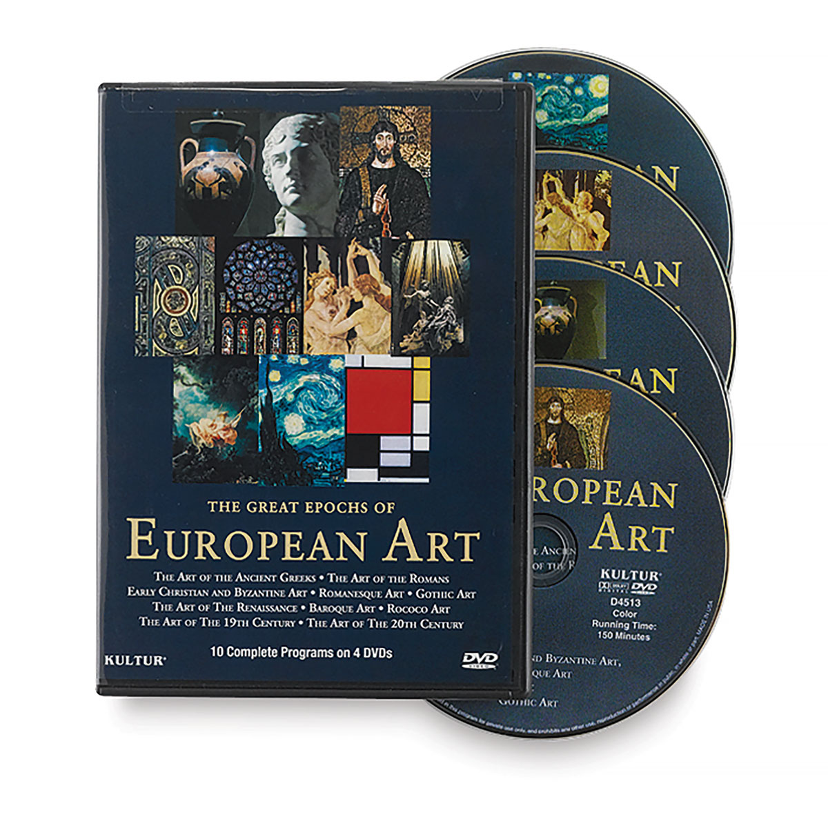 The Great Epochs of European Art DVD Set