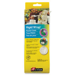 Activa Rigid-Wrap Plaster Cloth - Roll, 8'' x 5 Yards
