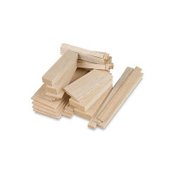 Midwest Products Balsa Wood Sheets - 20 Pieces, 1/32'' x 3'' x 36''