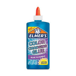 Elmer's Color Changing Glue - Blue, 9 oz