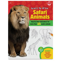 Walter Foster Learn to Draw Safari Animals - Paperback