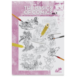 Leonardo Collection The Basics of Comics Vol 2, Book Cover