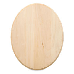 Walnut Hollow Basswood Plaque - Oval, 8'' x 10''