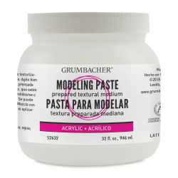 Grumbacher Acrylic Modeling Paste - 32 oz, Jar