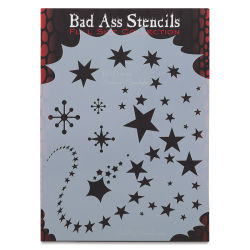 Graftobian Bad Ass Airbrush Stencil - Starlight