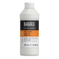 Liquitex Acrylic Varnish - Matte, 16 oz bottle