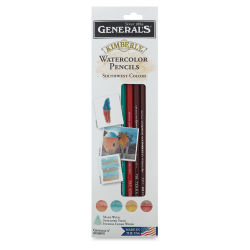 General's Kimberly Watercolor Pencil Set - Southwest Colors, Set of 4