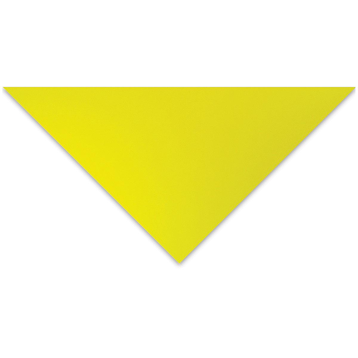 Crescent Decorative Whitecore Matboard - 32 x 40, Chartreuse