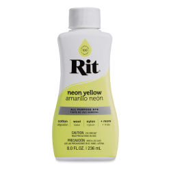 Rit Liquid Dye - Neon Yellow, 8 oz (Bottle)