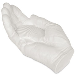 Plaster Hand - Hand with Shell