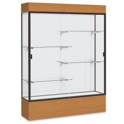 Waddell Reliant Series Display Case - Lighted Case, 60'', White Back