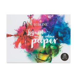 Royal Talens Ecoline Watercolor Paper Pad - 12 Sheets, 9-1/2'' x 12-1/2''