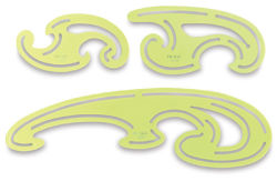 Set of 3 French Curves