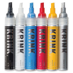 Krink K-75 Paint Markers - Set of 6 (out of package)