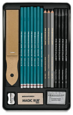 Graphite Drawing Set of 18