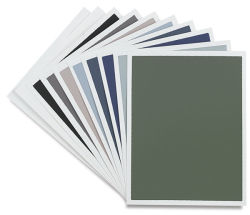 Pastel Paper-Cool Tones Pack, 10 Sheets Assorted Colors