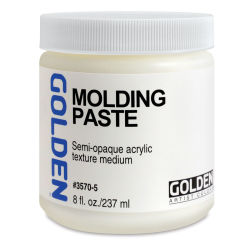 Golden Molding Paste Medium - 8 oz jar