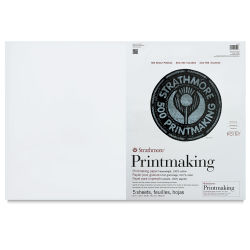 Strathmore 500 Series Riverpoint Printmaking Paper - 20'' x 30'', Pkg of 5 Sheets