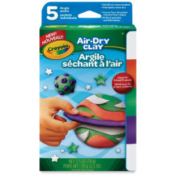 Crayola Air-Dry Clay - Variety Pack of 5, Bright Colors