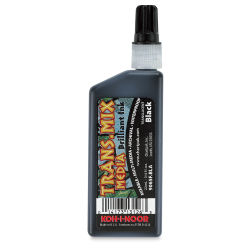 Koh-I-Noor Trans-Mix Media Brilliant Ink - 3/4 oz, Black