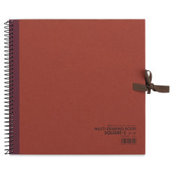 "Holbein Multimedia Book - 8"" x 8"", Rust"