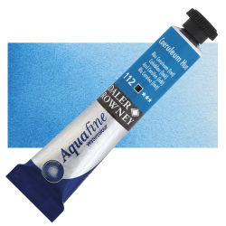 Daler-Rowney Aquafine Watercolors and Sets - Coeruleum Hue, 8 ml, Tube