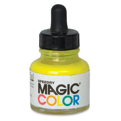 Magic Color Liquid Acrylic Ink - 28 ml, Astral Yellow