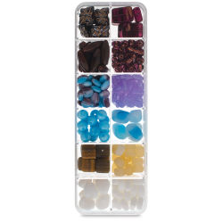 John Bead Czech Glass Bead Box Mix - Day of Joy