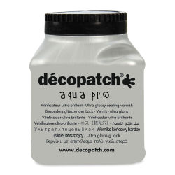 DecoPatch Aquapro Varnish - Ultra Glossy, 6 oz, Bottle