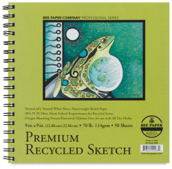 Recycled Sketch Pad, 50 Sheets