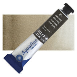 Daler-Rowney Aquafine Watercolors and Sets - Sepia Hue, 8 ml, Tube