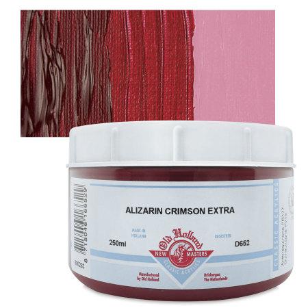 Old Holland New Masters Classic Acrylics - Alizarin Crimson Extra, 250 ml jar