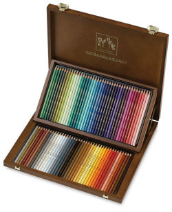Aquarelle Pencils, Wood Box Set of 80