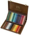 Caran d'Ache Supracolor Soft Aquarelle Pencil Set - Assorted Colors, Wood Box Set of 80