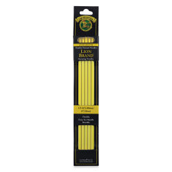 Lion Brand Double Point Knitting Needles - Size 8, 5 mm, Pkg of 5