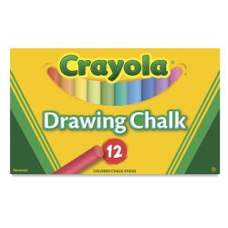 Crayola Colored Drawing Chalk - Assorted Colors, Set of 12